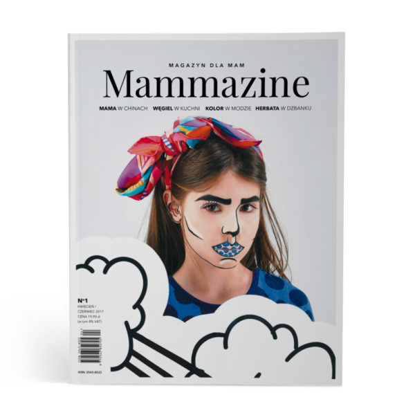 MAMMAZINE OKLADKA GRAFIKA SKLEP