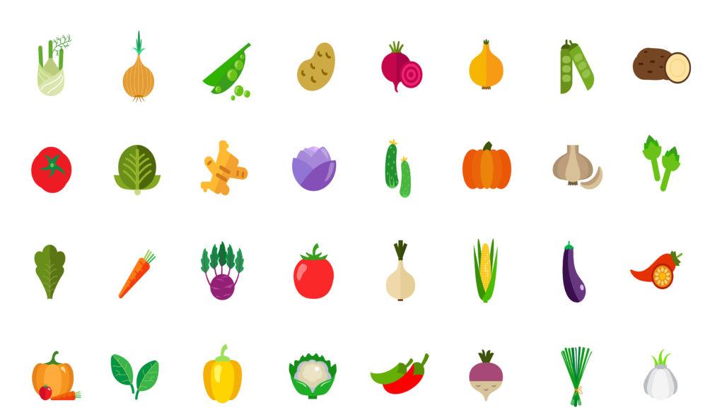 Jedzenie kolorami - Czy kolor naszego pożywienia ma znaczenie