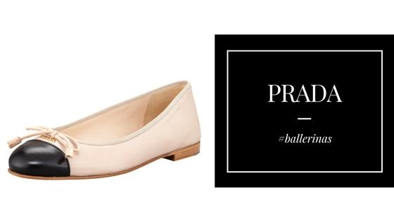 Baleriny od Prady / ponadczasowe buty