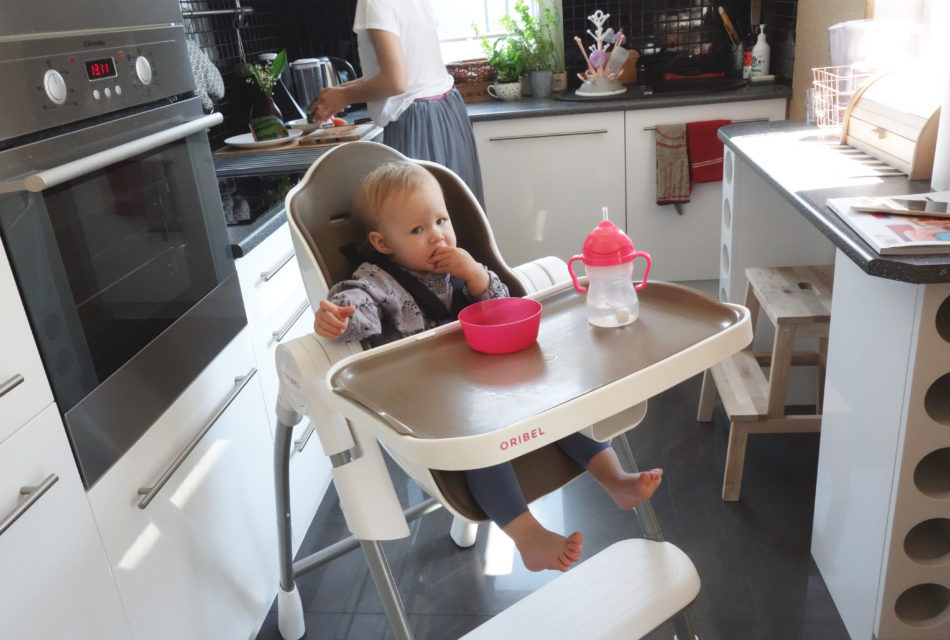 krzesełko do karmienia oribel