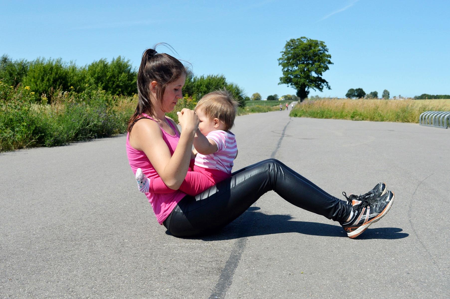 fitness z dzieckiem