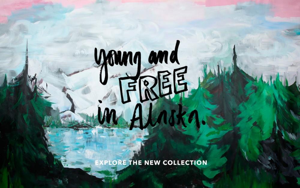 MINI RODINI / YOUNG AND FREE IN ALASCA / KOLEKCJA AW16