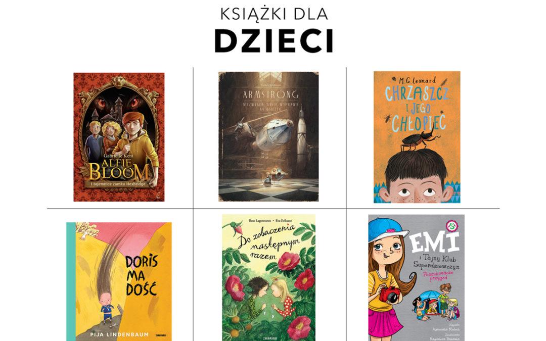 KSIĄŻKI DLA DZIECI / TOP 15