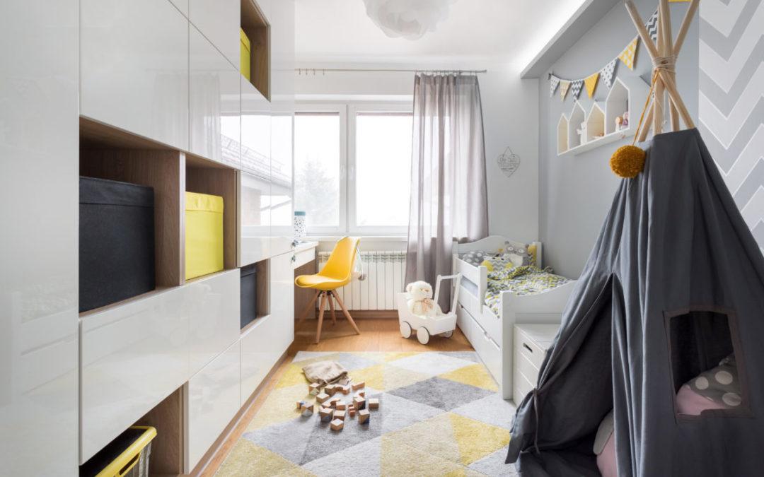 Pomysł na pokój dziecięcy: inspiracje