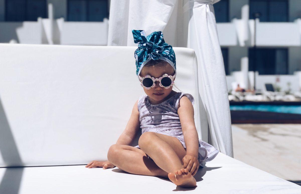 Turban dla dzieci My Tropical Obsession