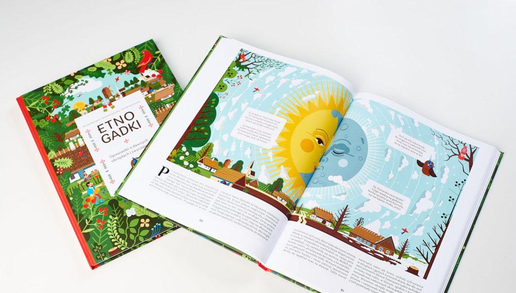książka dla dzieci Etnogadki