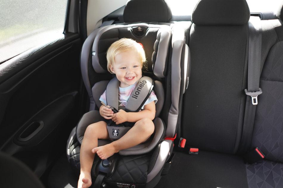 fotelik samochodowy JASPER testy