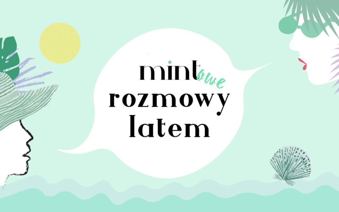 """MINTOWE ROZMOWY LATEM / MICHAŁ STRZAŁKOWSKI O KSIĄŻCE """"MIASTO"""""""