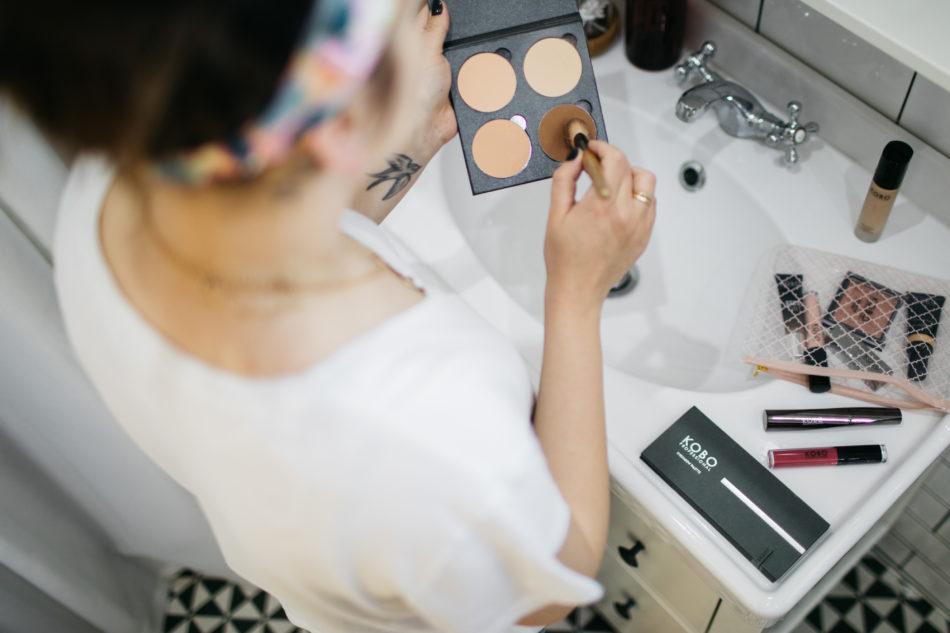 makijaż Dominiki Wojtaszek z marką Kobo