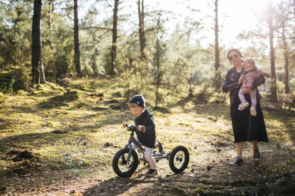 rowerek Tribike na spacerze z Dominiką Wojtaszek