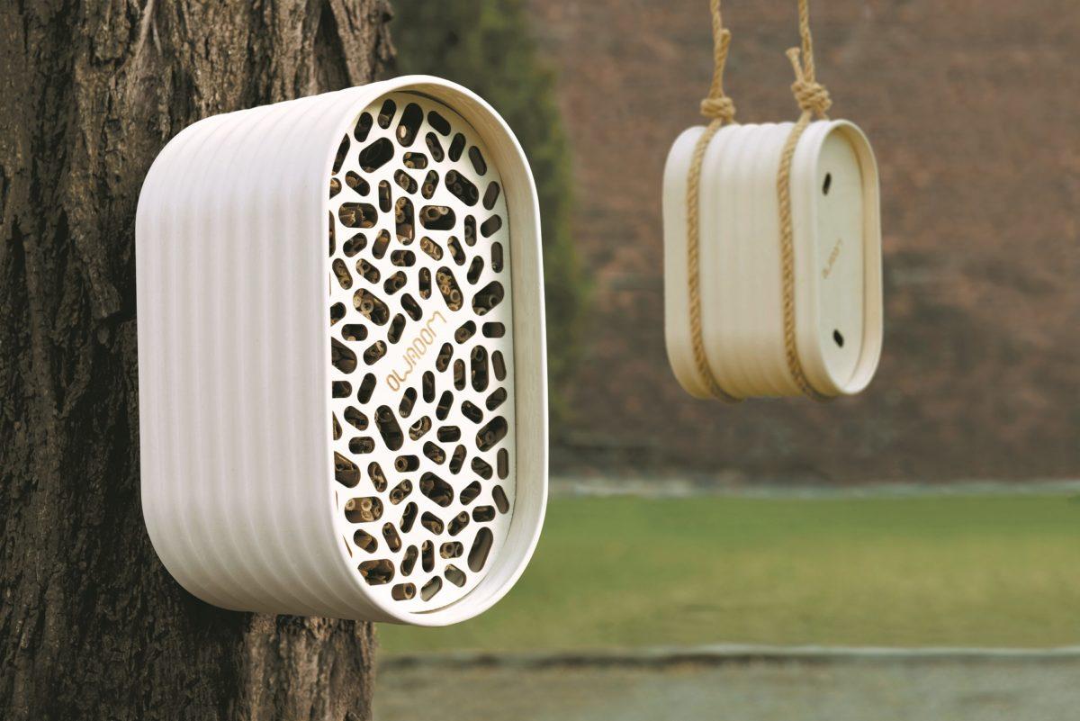 owadom pomaga dzikim pszczołom