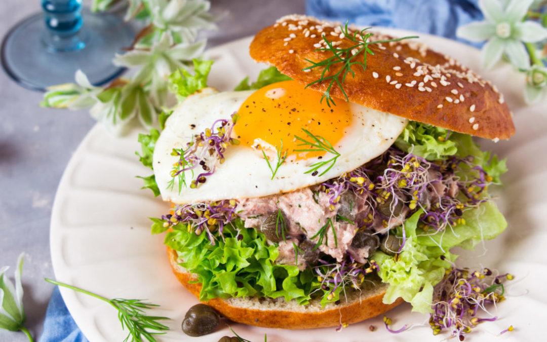 Bajgiel – pomysł na śniadanie