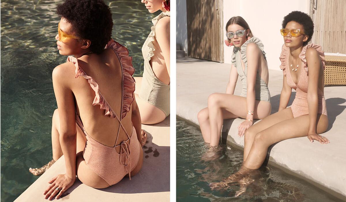 stroje kąpielowe Louise Misha