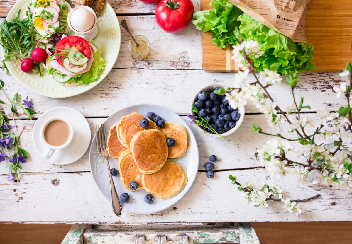 pomysł na zdrowe śniadanie