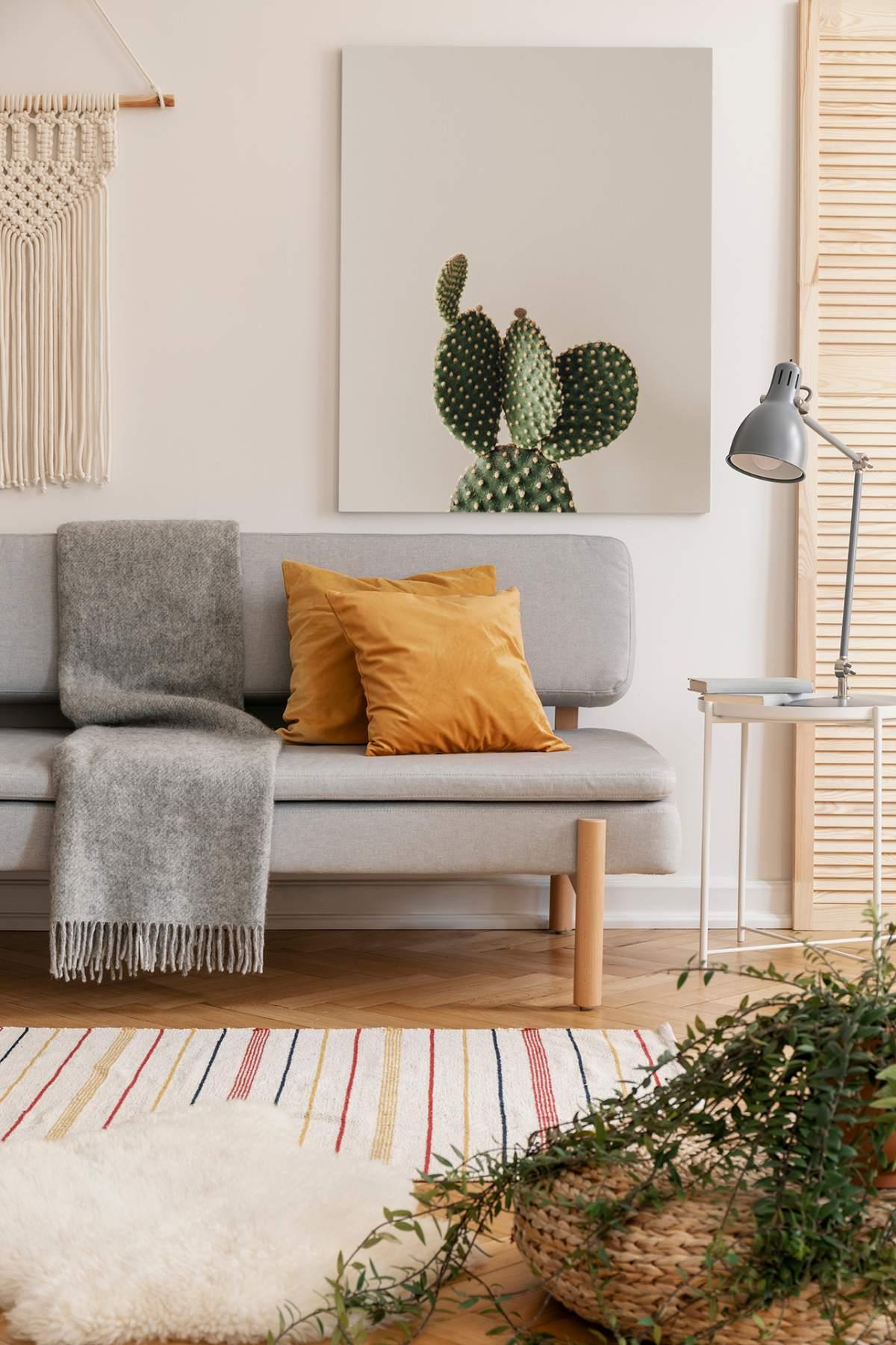 minimalizm w domu obraz na płótnie do salonu