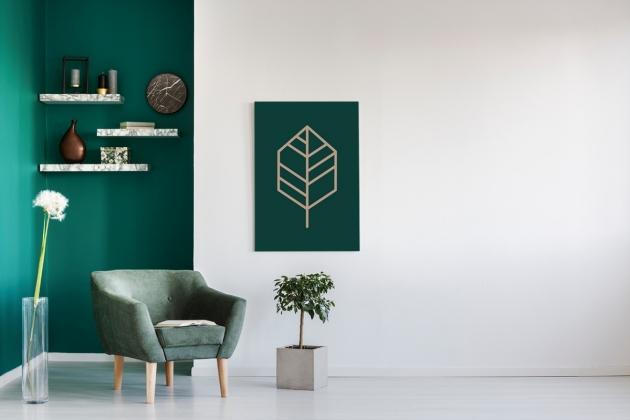 Obraz na płótnie, jak stworzyć minimalistyczny styl