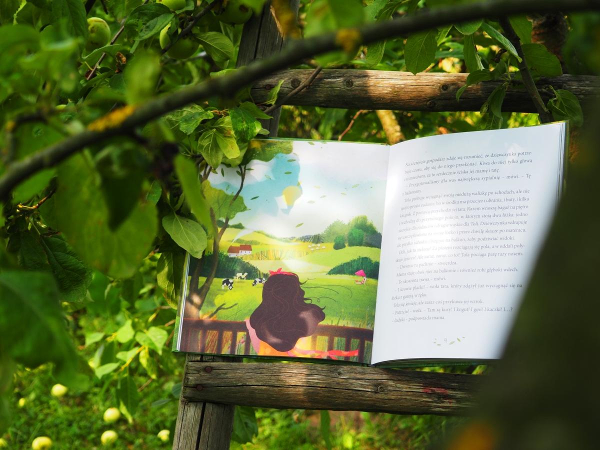 Anna Włodarkiewicz seria książek dla dzieci Tola