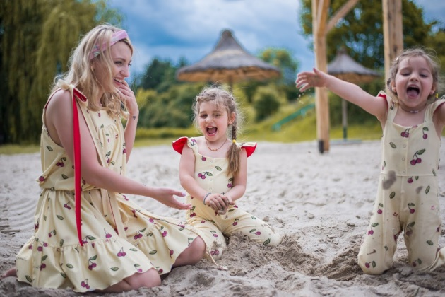 Sukienki dla mamy i córki