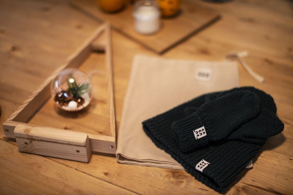 czapki robione na drutach