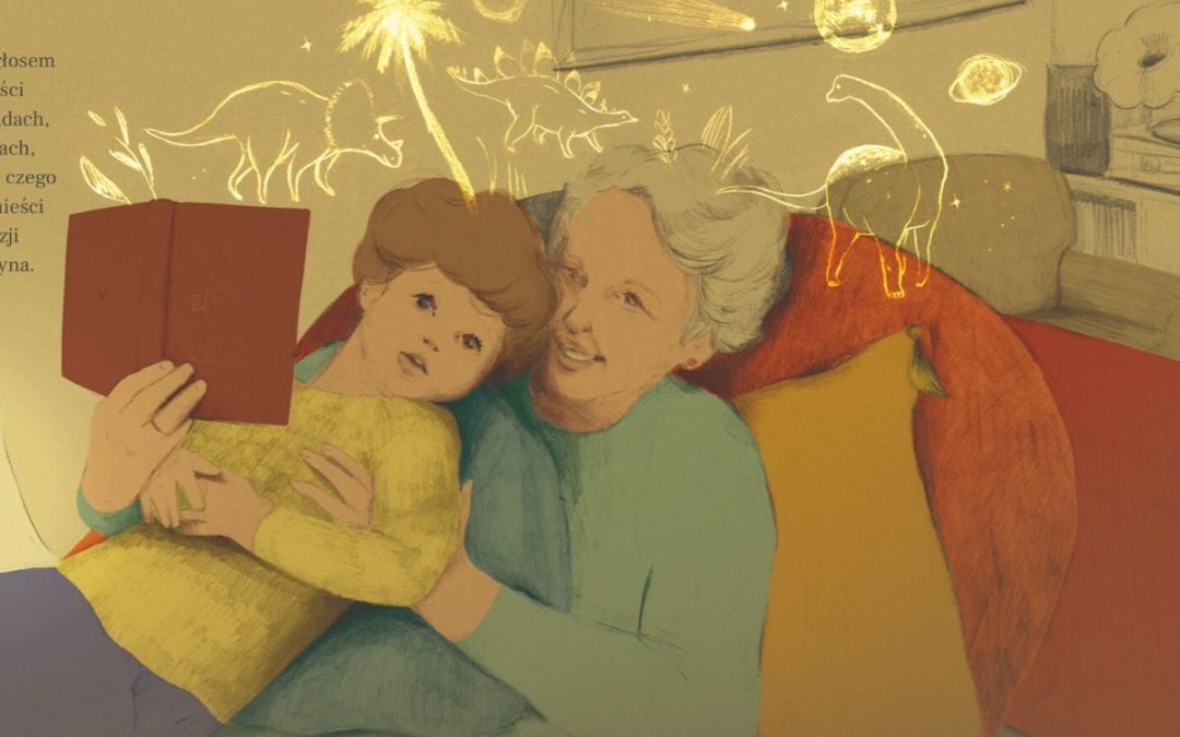 Wzruszająca książka o miłości na dzień babci i dziadka