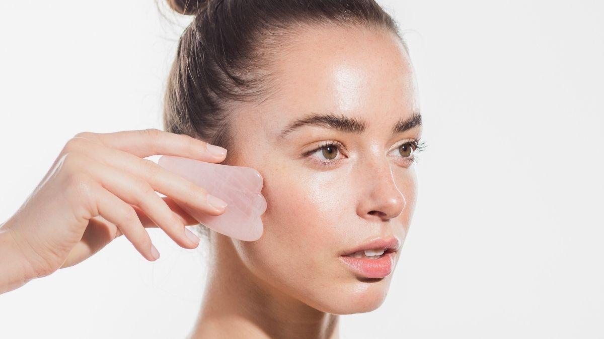 wałek do masażu twarzy