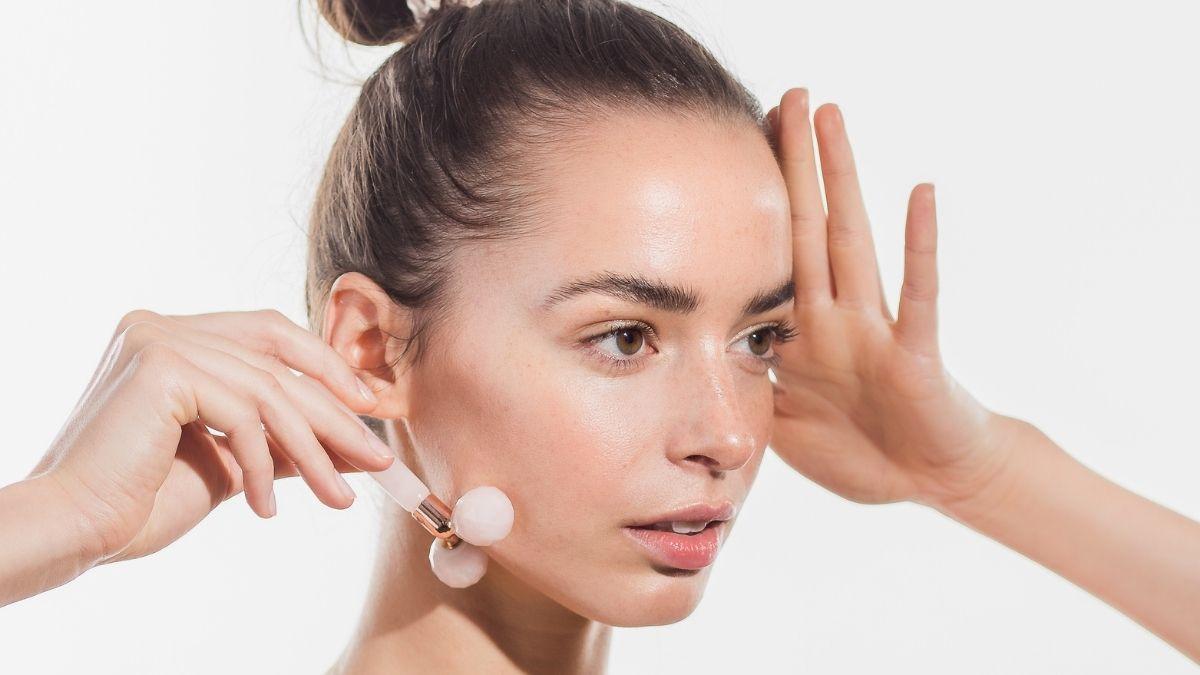 wałęk do masażu twarzy