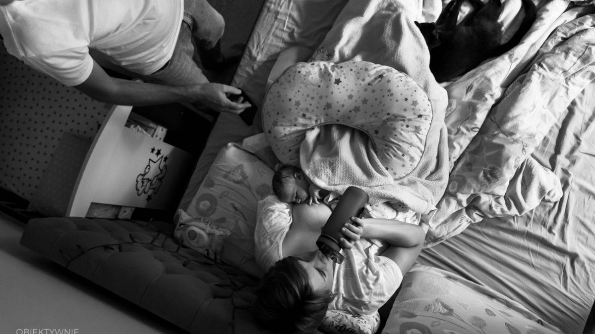 zdjęcia z porodu